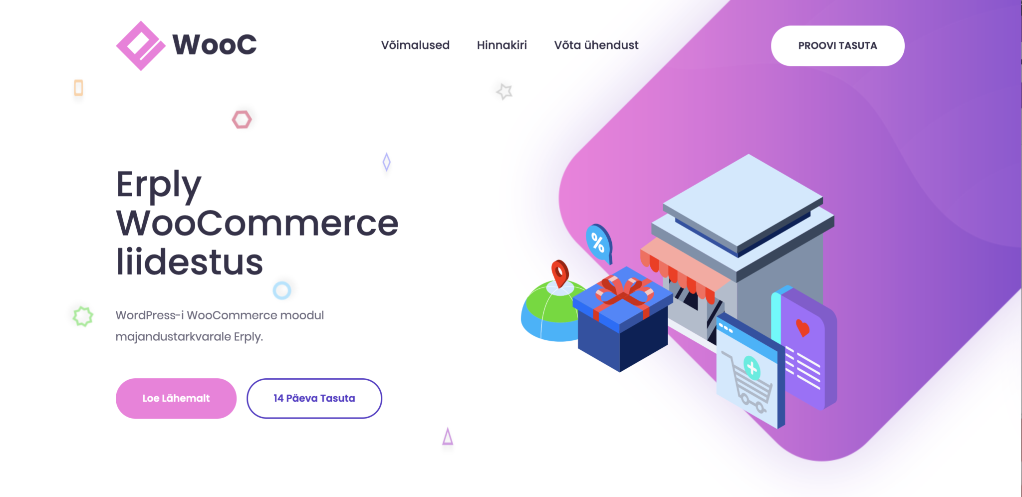 Erply WooCommerce Moodul