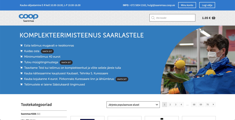COOP Saaremaa e-pood